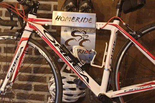 Fietsbeugel Home Ride Ronald MCdonald huizen