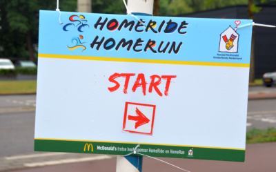 Homeride Ronald MCDonald Kinderfonds Nederland