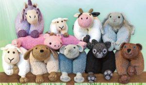 Knuffelkussens team Fluffy Rabbit
